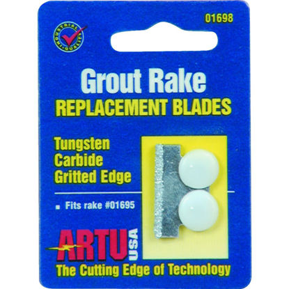 Picture of ARTU Tungsten Carbide Grout Rake Blade (2-Pack)