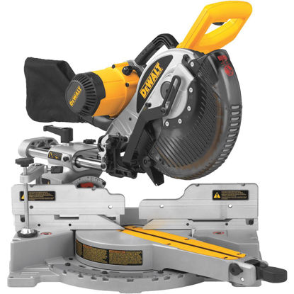 Picture of DeWalt 10 In. 15-Amp Dual-Bevel Sliding Compound Miter Saw