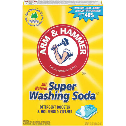 Picture of Arm & Hammer 55 Oz. Super Washing Soda Laundry Booster