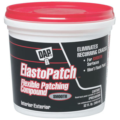 Picture of DAP ElastoPatch Quart White Patching Compound