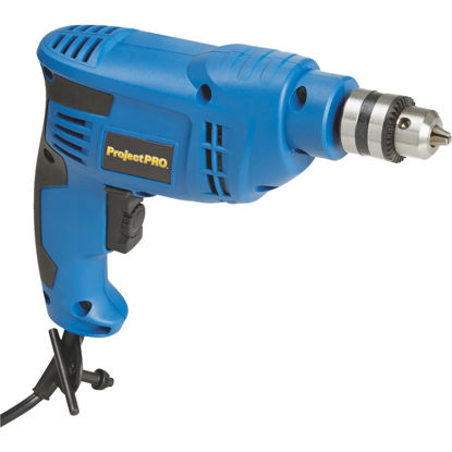 Picture of Project Pro 3/8 In. 4.2-Amp Keyed Electric Drill