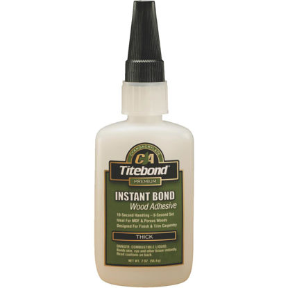 Picture of Titebond 2 Oz. Instant Bond Thick Viscosity CA Wood Glue