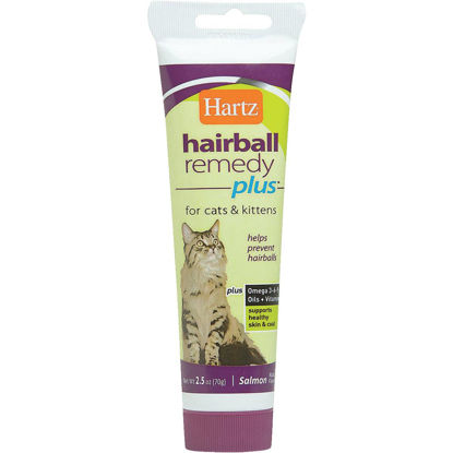 Picture of Hartz Hairball Eliminator Remedy Plus 3 Oz. Salmon Flavor Paste For Cats & Kittens