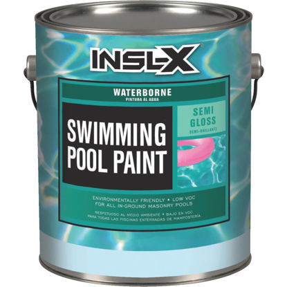Picture of Insl-X 1 Gal. White Semi-Gloss Waterborne Pool Paint