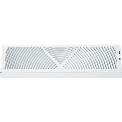 Picture of Accord 15 In. White Steel Baseboard Diffuser