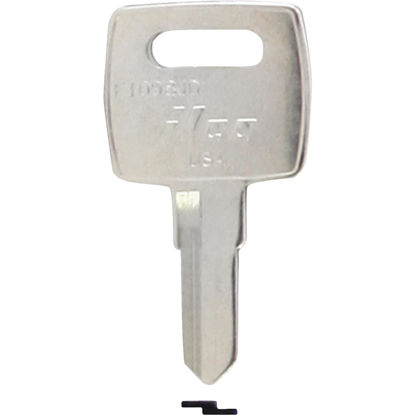 Picture of ILCO John Deere Nickel Plated Tractor Key, (10-Pack)