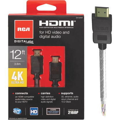 Picture of RCA 12 Ft. Digital Plus HDMI Cable