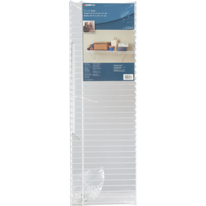Picture of ClosetMaid 3 Ft. W. x 12 In. D Ventilated Shelf Kit, White