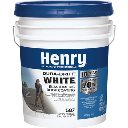 Picture of Henry Dura-Brite 5 Gal. White Acrylic Elastomeric Roof Coating