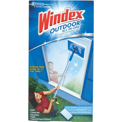 Picture of Windex Outdoor All-in-One Glass Cleaning Tool Kit