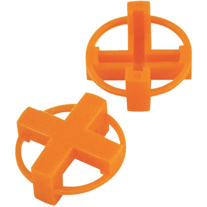 Picture of Marshalltown 1/4 In. Orange Tavy Tile Spacers (100-Pack)