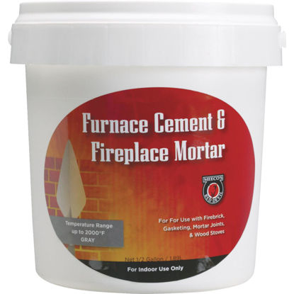 Picture of Meeco's Red Devil 1/2 Gal. Gray Furnace Cement & Fireplace Mortar