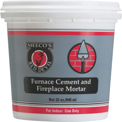 Picture of Meeco's Red Devil 1 Qt. Gray Furnace Cement & Fireplace Mortar