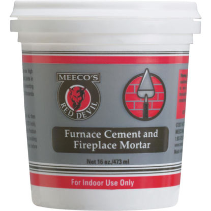 Picture of Meeco's Red Devil 1 Pt. Gray Furnace Cement & Fireplace Mortar