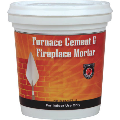 Picture of Meeco's Red Devil 1/2 Pt. Gray Furnace Cement & Fireplace Mortar