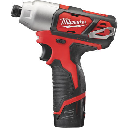 Picture of Milwaukee M12 12 Volt Lithium-Ion 1/4 In. Cordless Impact Driver Kit