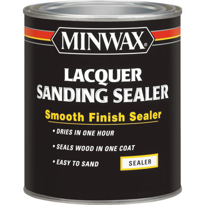 Picture of Minwax Lacquer Sanding Sealer, 1 Qt.