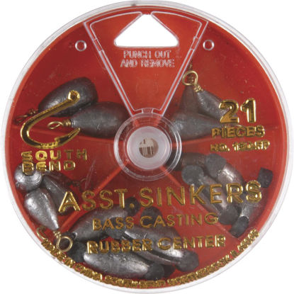 Picture of SouthBend 21-Piece Sinker Kit Assortment