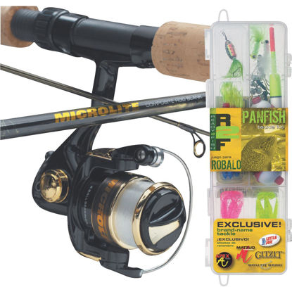 Picture of SouthBend Ready 2 Fish Panfish 5 Ft. Fiberglass Fishing Rod & Spinning Reel Combo
