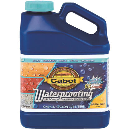 Picture of Cabot Clear Silicone Waterproofing Sealer, 1 Gal.