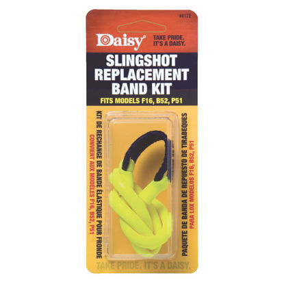 Picture of Daisy Yellow Slingshot Replacement Assembly Bands