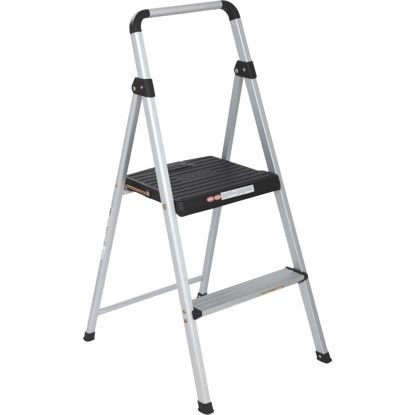 Picture of COSCO Lightweight 2-Step Folding Step Stool