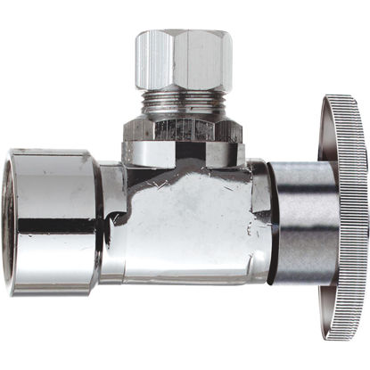 Picture of Do it 1/2 In. FIP x 1/2 In. OD Quarter Turn Angle Valve