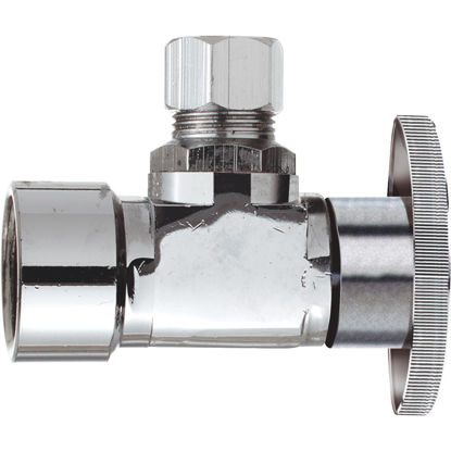 Picture of Do it 3/8 In. FIP x 3/8 In. OD Quarter Turn Angle Valve