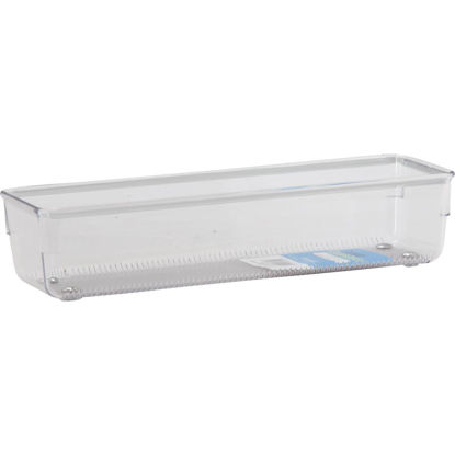 Picture of Interdesign Linus 3 In. x 9 In. x 2 In. Clear Drawer Organizer