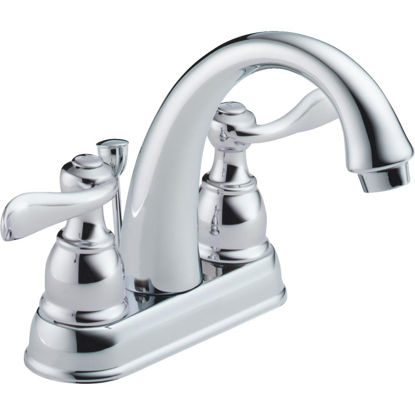 Picture of Delta Windmere Chrome 2-Handle Lever 4 In. Centerset Bathroom Faucet with Pop-Up