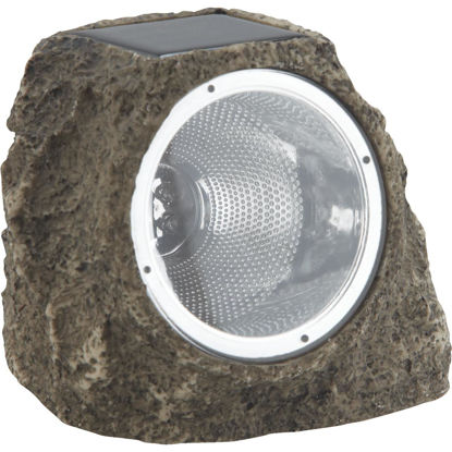 Picture of Outdoor Expressions Solar Plastic Path Rock LED Light