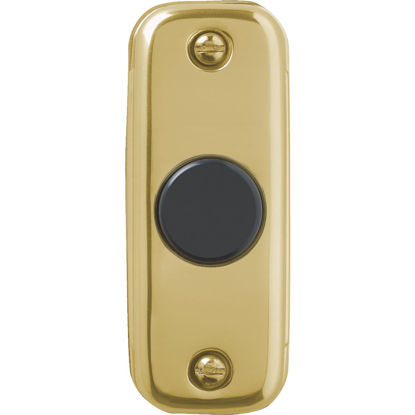 Picture of IQ America Wired Gold Doorbell Push-Button