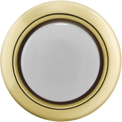 Picture of IQ America Wired Gold Round Lighted Doorbell Push-Button