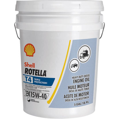 Picture of ROTELLA 15W40 5 Gal Triple Protection Motor Oil