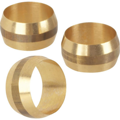 Picture of Do it 1/2 In. Brass Compression Sleeve (3-Pack)