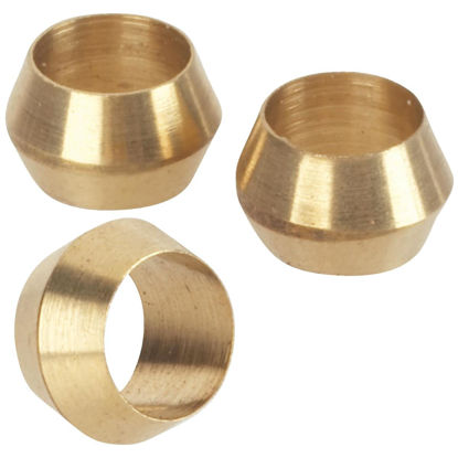 Picture of Do it 1/4 In. Brass Compression Sleeve (3-Pack)