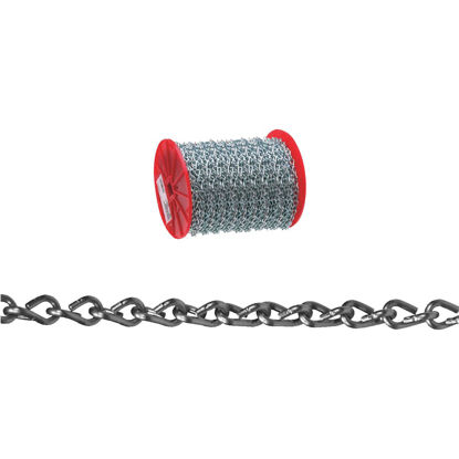 Picture of Campbell #16 200 Ft. Zinc-Plated Low-Carbon Steel Coil Chain