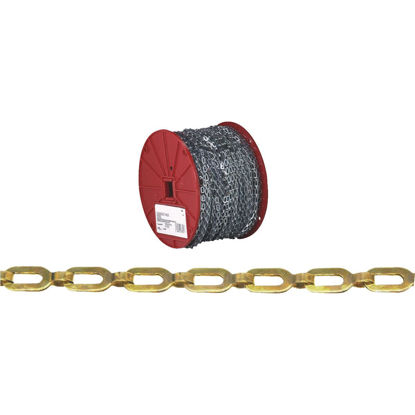 Picture of Campbell #1/0 200 Ft. Bright Brass Coil Chain