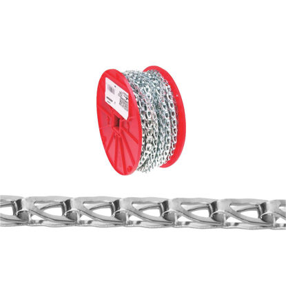 Picture of Campbell #35 100 Ft. Zinc-Plated Low-Carbon Steel Coil Chain