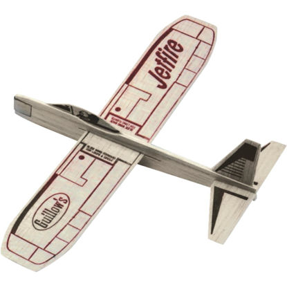 Picture of Paul K Guillow JetFire 12 In. Balsa Wood Glider Plane