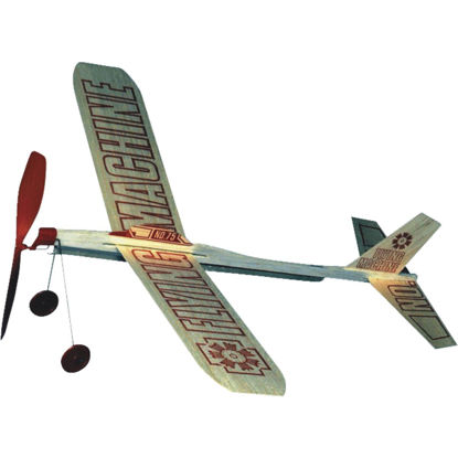 Picture of Paul K Guillow Flying Machine 17 In. Balsa Wood Glider Plane