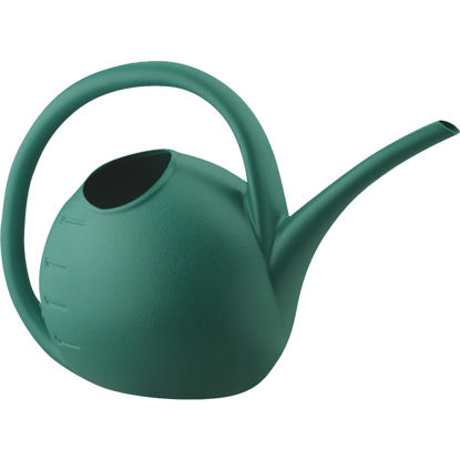 Picture of Akro Mills 1 Qt. Green Poly Watering Can