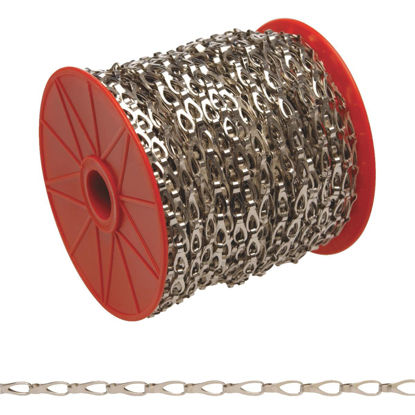 Picture of Campbell #3 82 Ft. Chrome-Plated Low-Carbon Steel Coil Chain