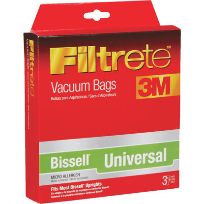 Picture of 3M Filtrete Bissell Style 1-7 Micro Allergen Vacuum Bag (3-Pack)