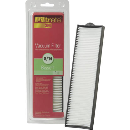 Picture of 3M Filtrete Bissell 8/14 HEPA Lift-Off, Momentum, Pet Hair Eraser Vacuum Filter