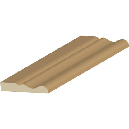 Picture of Cedar Creek ACOL-BASE 9/16 In. W. x 3-1/4 In. H. x 8 Ft. L. Finger Joint Pine Colonial Base Molding