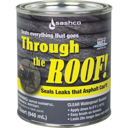 Picture of Through The Roof! 1 Qt. VOC Cement & Patching Sealant