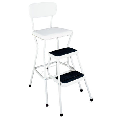 Picture of COSCO Pull-Out 2-Step Stool Chair