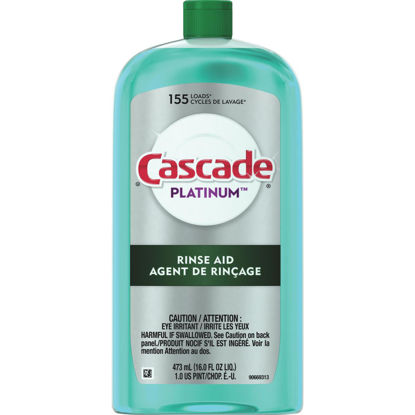 Picture of Cascade Platinum 16 Oz. Dishwasher Rinse Aid and Drying Agent