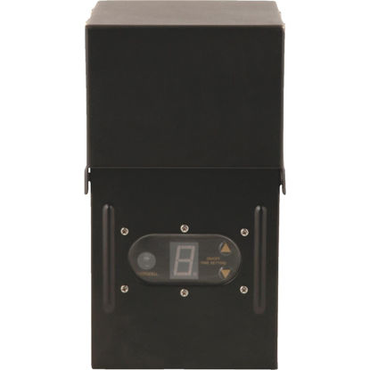 Picture of Moonrays 200W Black Low Voltage Control Box with Digital Photocell
